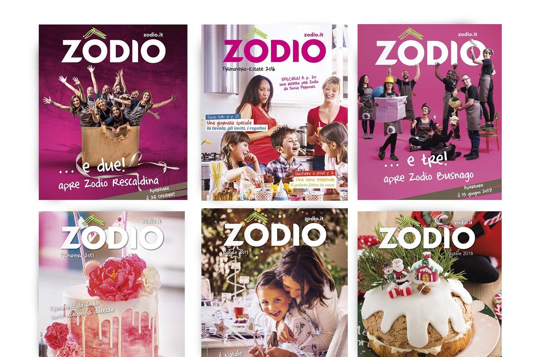 Portfolio Zodio | Strategia Marketing | Graphic Design | Art Direction | Restyling catalogo |E 2.0 Food | www.edizioni20food.com