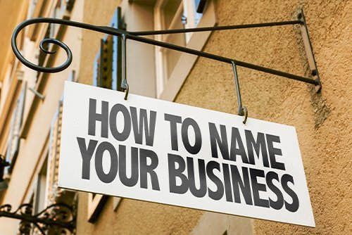 how to name your business